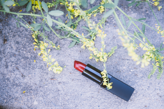 finding beautiful truth, beauty buys, red lipstick