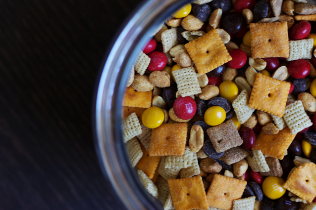 fall munch mix, finding beautiful truth