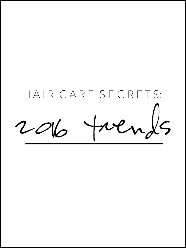 2016 trends, hair care secrets, finding beautiful truth