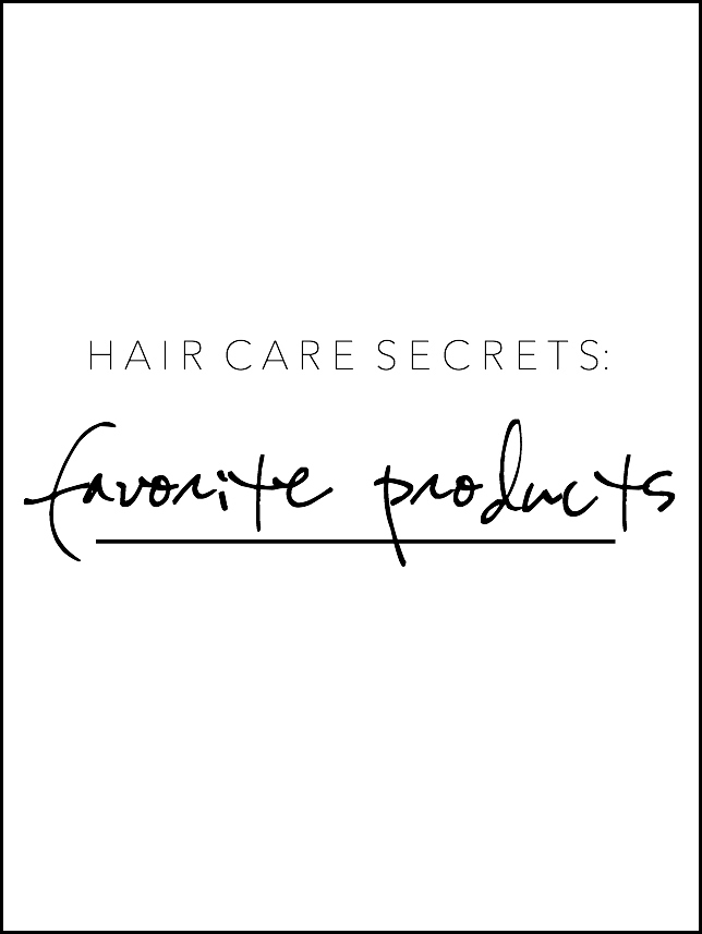 hair care secrets, favorite products, finding beautiful truth