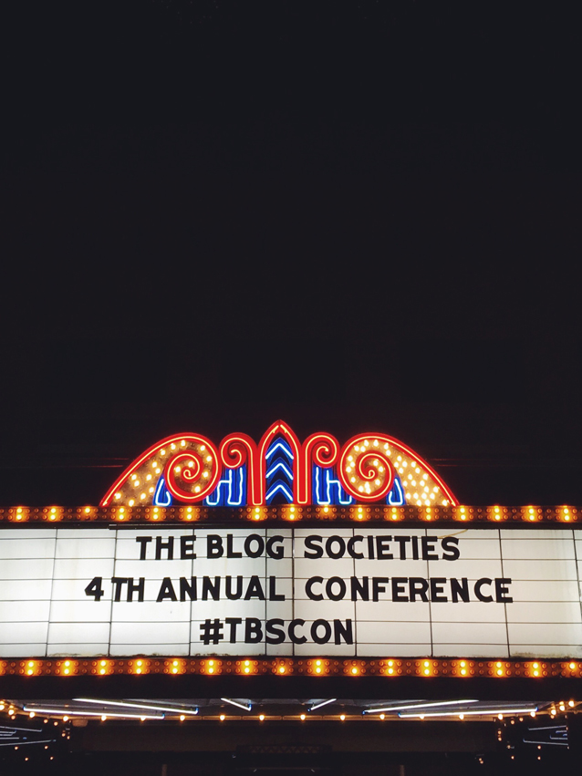 blogging tips: #TBSCon in Charleston