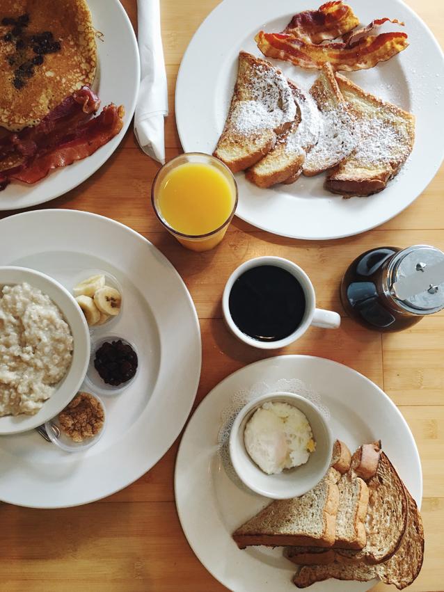 breakfast at toast of charleston via Finding Beautiful Truth