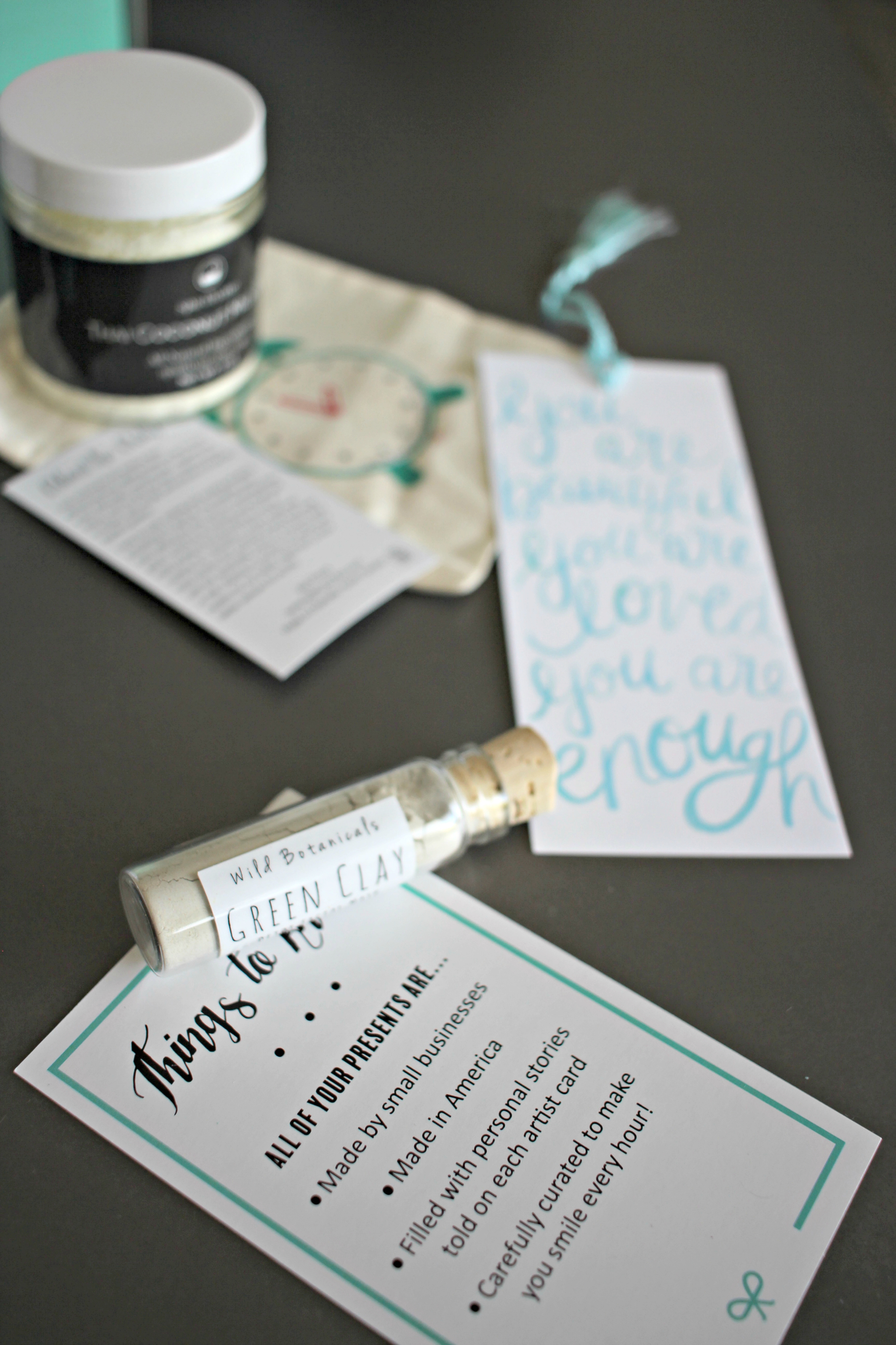snail mail gift idea via Finding Beautiful Truth