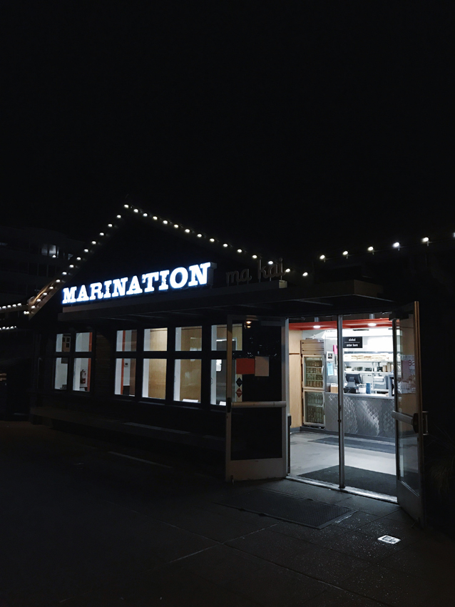 marination ma kai in seattle for tacos | via Finding Beautiful Truth