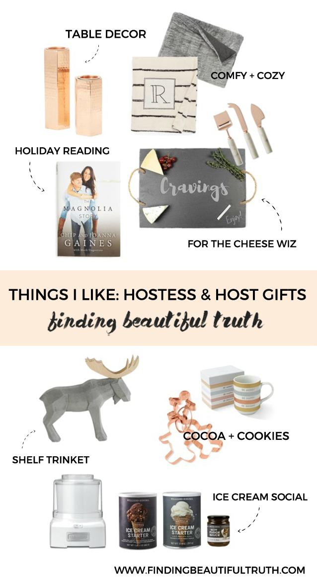 things i like: hostess & host gifts | via Finding Beautiful Truth