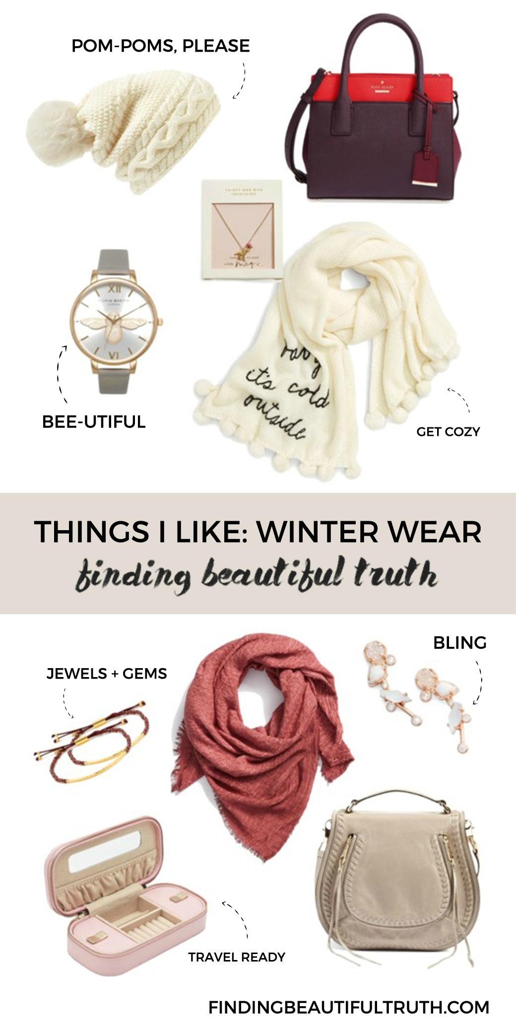 things i like: winter wear   via Finding Beautiful Truth