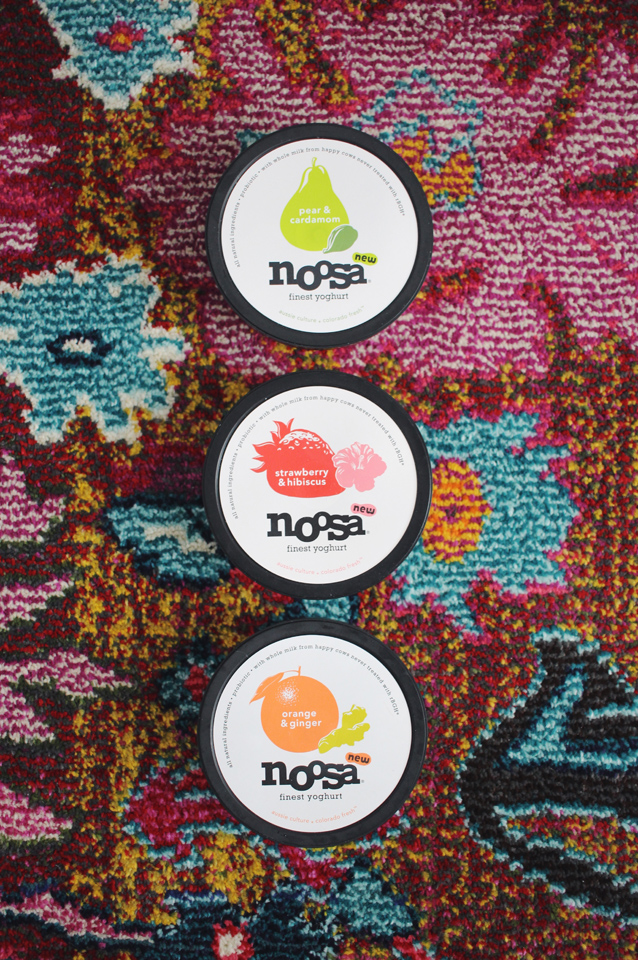 on the go with noosa yogurt via Finding Beautiful Truth