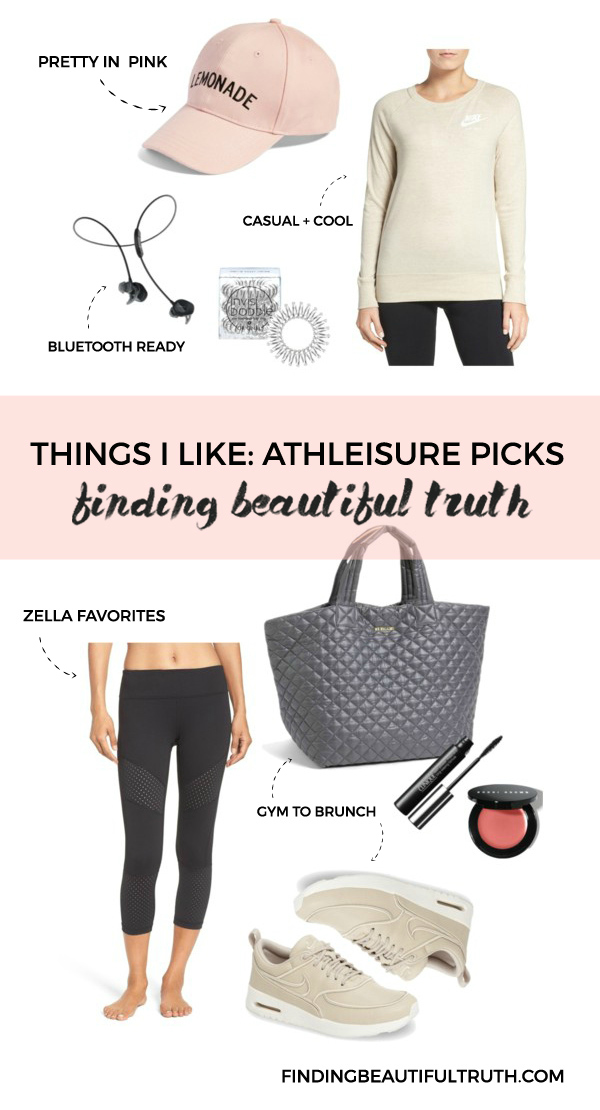 athleisure picks from nordstrom | via Finding Beautiful Truth