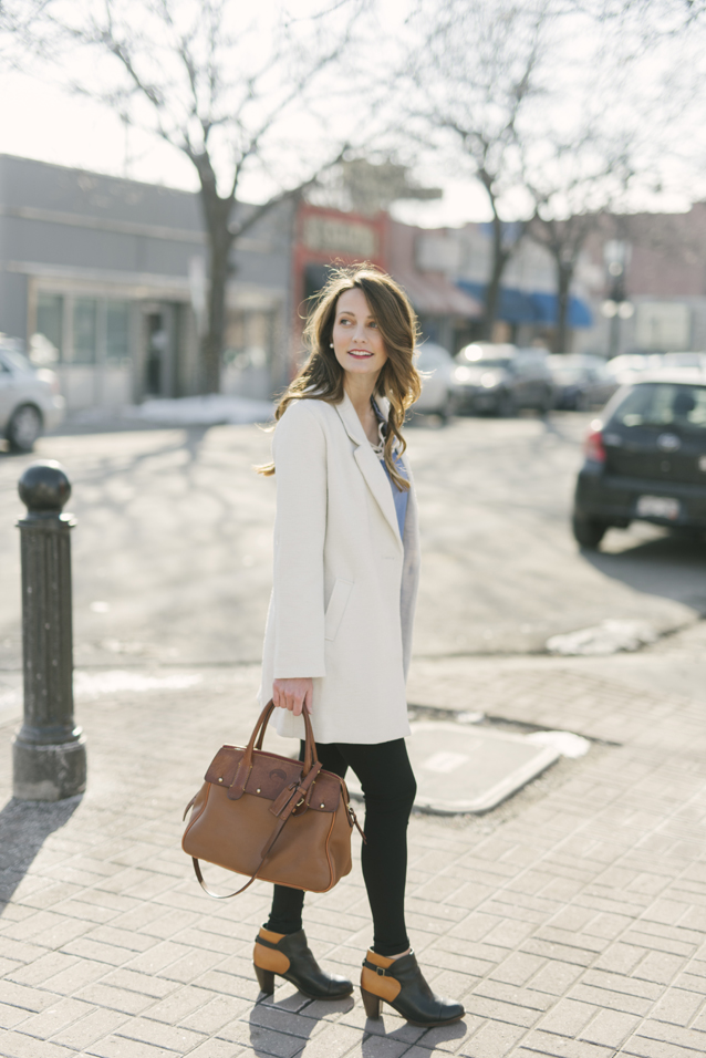 spring style + the perfect ivory layer   via Finding Beautiful Truth