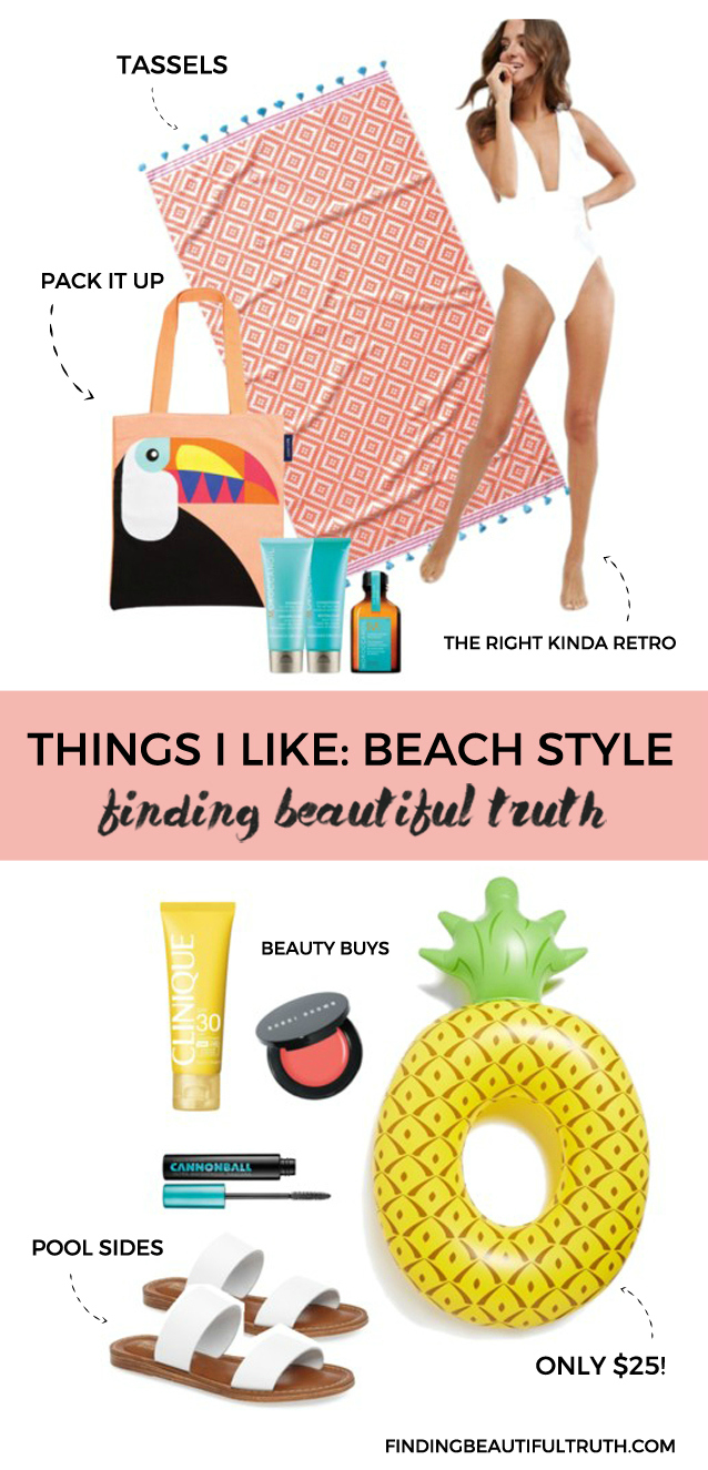 beach style guide | things i like via Finding Beautiful Truth