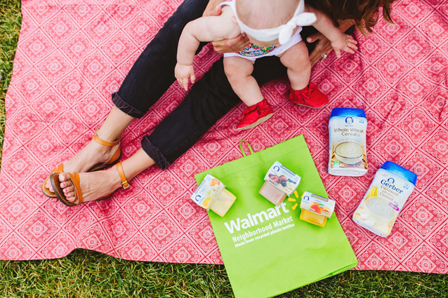 8 month old morning routine + gerber cereal favorites | via Finding Beautiful Truth
