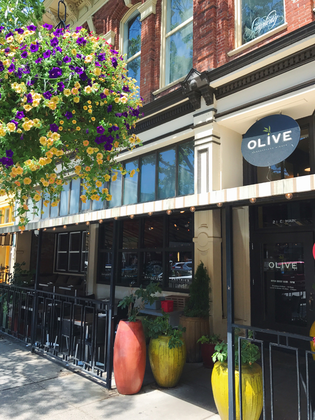 downtown walla walla for lunch at olive | via Finding Beautiful Truth