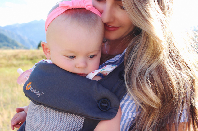 weekend adventuring with our ergo baby carrier | via Finding Beautiful Truth