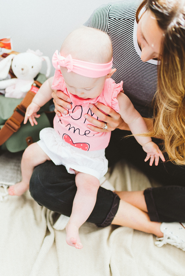 teething tips + things i've learned from fellow mamas | via Finding Beautiful Truth