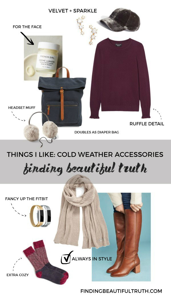 cold weather accessories for fall & winter | Finding Beautiful Truth