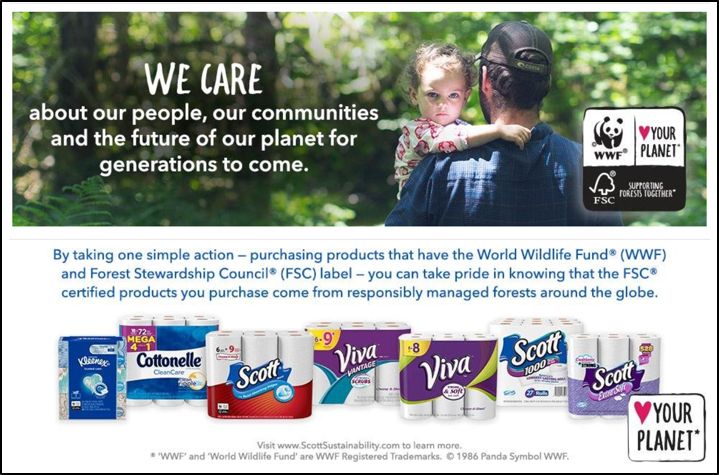 kimberly-clark + amazon initiative to help protect nature