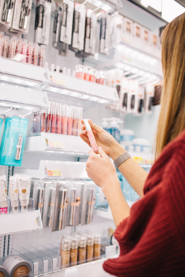 drugstore beauty buys + tips for moms on-the-go | Finding Beautiful Truth